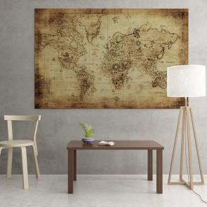 Πίνακας Ζωγραφικής Old Map - Decotek 16990