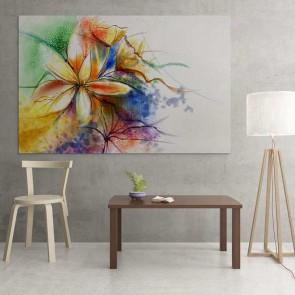 Πίνακας Ζωγραφικής Colorful Flowers