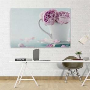 Πίνακας Ζωγραφικής Cup of Flowers