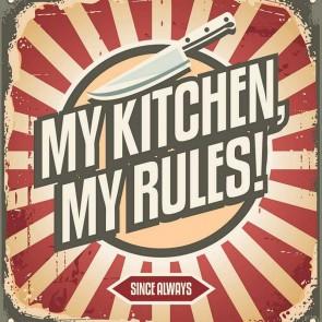 Πίνακας Ζωγραφικής My Kitchen Rules - Decotek 17011
