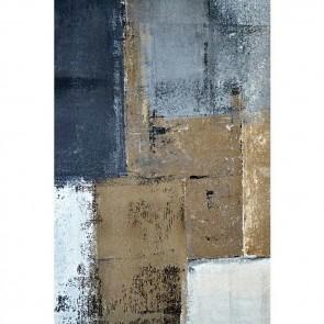 Πίνακας Ζωγραφικής Blue & Brown