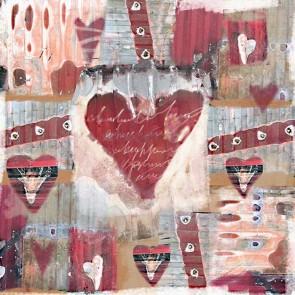 Πίνακας Ζωγραφικής Hearts Pattern - Decotek 19262
