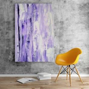 Πίνακας Ζωγραφικής Purple Abstract