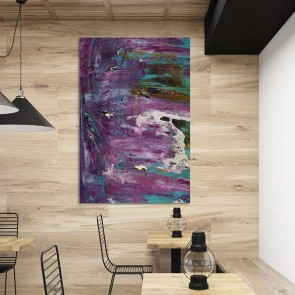 Πίνακας Ζωγραφικής Purple In Art