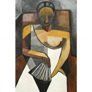 Πίνακας Ζωγραφικής Sitting Woman