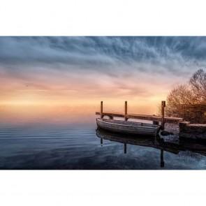 Πίνακας Ζωγραφικής Lake Boat - Decotek 12133