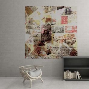 Πίνακας Ζωγραφικής Stamps - Decotek 13579