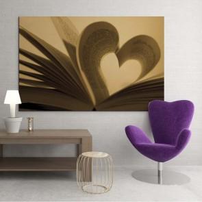Πίνακας Ζωγραφικής Love Book - Decotek 13601