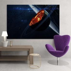Πίνακας Ζωγραφικής Planet - Decotek 15161