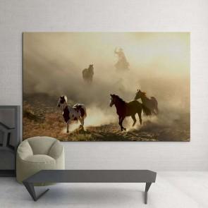Πίνακας Ζωγραφικής Άλογα - Decotek 15182