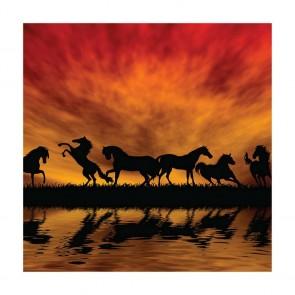 Πίνακας Ζωγραφικής Άλογα - Decotek 15189