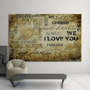 Πίνακας Ζωγραφικής Love Letters - Decotek 13772