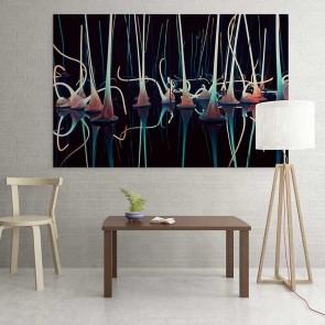 Πίνακας Ζωγραφικής Fantasy Lights - Decotek 16040