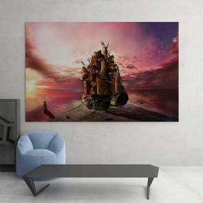 Πίνακας Ζωγραφικής Fantasy Ship - Decotek 16041