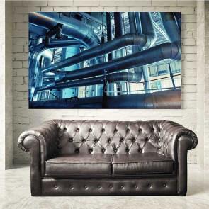 Πίνακας Ζωγραφικής Industrial Tubes - Decotek 16044