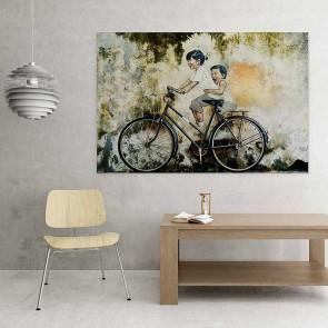 Πίνακας Ζωγραφικής Playful Cicling - Decotek 16049
