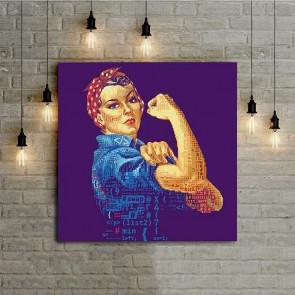 Πίνακας Ζωγραφικής Women Power - Decotek 16066