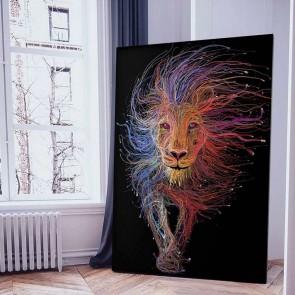 Πίνακας Ζωγραφικής Λιοντάρι - Decotek 16069