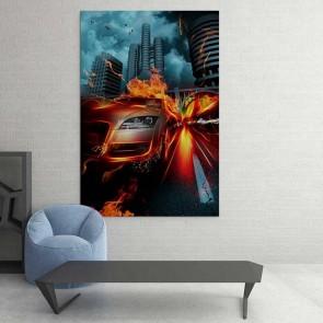 Πίνακας Ζωγραφικής Speed Car - Decotek 16074