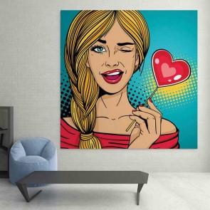 Πίνακας Ζωγραφικής Pin Up Girl - Decotek 16099