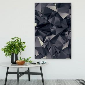 Πίνακας Ζωγραφικής 3D Triangle Art - Decotek 180501