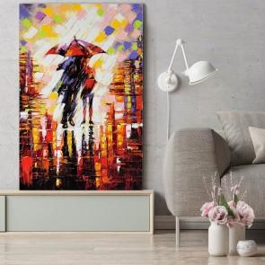 Πίνακας Ζωγραφικής Under An Umbrella – Decotek 180556