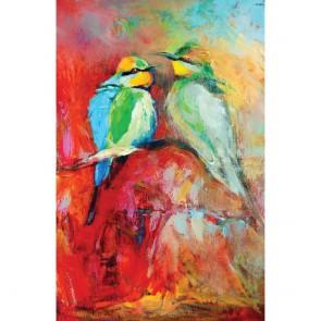 Πίνακας Ζωγραφικής Blue Tailed Bee Eaters – Decotek 180574