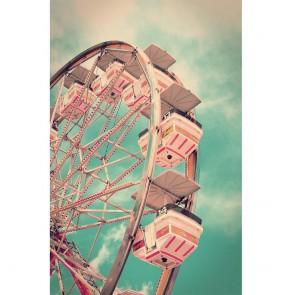 Πίνακας Ζωγραφικής Vintage Ferris Wheel – Decotek 180614