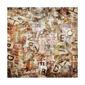 Πίνακας Ζωγραφικής Grunge Typography - Decotek 180634