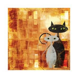 Πίνακας Ζωγραφικής The Cats - Decotek 180640