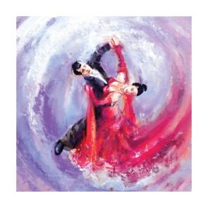 Πίνακας Ζωγραφικής Waltz Dancers - Decotek 180661