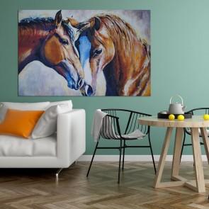 Πίνακας Ζωγραφικής Beautiful Horses - Decotek 180670