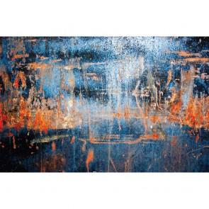 Πίνακας Ζωγραφικής Blue Grunge Metals - Decotek 180677