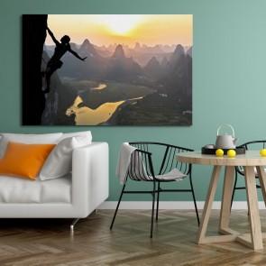 Πίνακας Ζωγραφικής Climbing On A Chinese Mountain - Decotek 180686