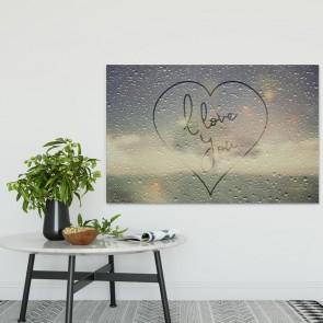 Πίνακας Ζωγραφικής I Love You - Decotek 180705