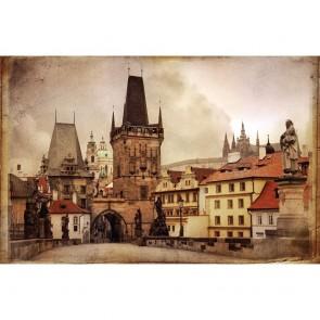 Πίνακας Ζωγραφικής Vintage Prague - Decotek 180741