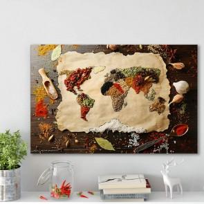 Πίνακας Ζωγραφικής World Flavours– Decotek 180747