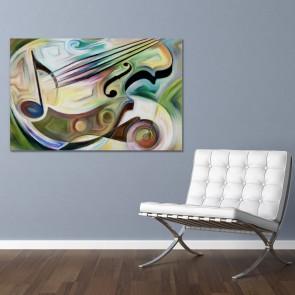 Πίνακας Ζωγραφικής Conceptual Music – Decotek 180753