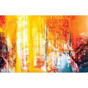 Πίνακας Ζωγραφικής Orange Abstract Colours – Decotek 180759