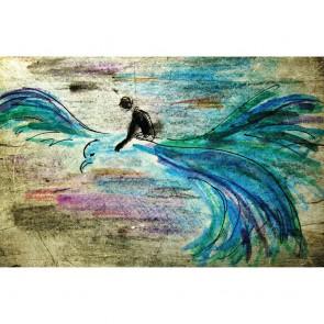 Πίνακας Ζωγραφικής Prince Flying On Bird – Decotek 180762