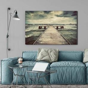 Πίνακας Ζωγραφικής Storm By The Sea – Decotek 180766