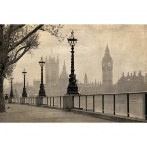 Πίνακας Ζωγραφικής Vintage View Of London – Decotek 180770