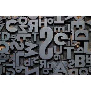 Πίνακας Ζωγραφικής 3D Typography - Decotek 180778