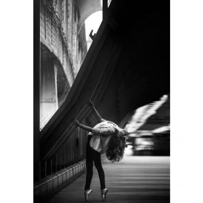 Πίνακας Ζωγραφικής Ballerina in the City – Decotek 180801