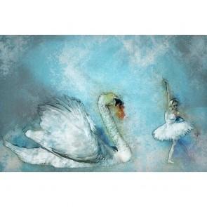 Πίνακας Ζωγραφικής Ballet With Swan - Decotek 180802