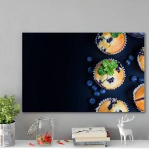 Πίνακας Ζωγραφικής Blueberry Muffns - Decotek 180827