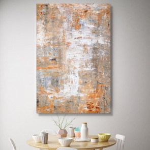 Πίνακας Ζωγραφικής Brown and White Art – Decotek 180833
