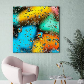 Πίνακας Ζωγραφικής Colourful Drops - Decotek 180855
