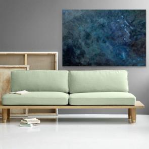 Πίνακας Ζωγραφικής Dark Blue Abstract - Decotek 180867