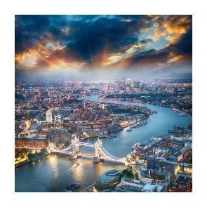 Πίνακας Ζωγραφικής Dramatic London Sunset - Decotek 180873